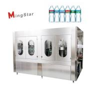 Quality Plastic 500 Ml Mineral Water Bottle Plant , Automatic Pet Bottle Filling Machine for sale