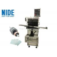 Quality Auto rotor armature insulation paper insertion machine , Shaft O.D 3~17mm for sale