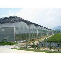Bolting Connection Polycarbonate Panel Greenhouse , Durable Dome Shaped Greenhouse for sale