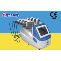 Buy Portable Body Lipo Laser Slimming Machine With 8 Handpieces For Fat Removal at wholesale prices