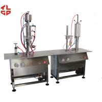 Quality Semi-Automatic Bag On Valve Aerosol Filling Machines for Avene Cosmetic Sprays for sale