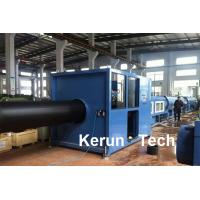 Buy Hollow Wall HDPE Pipe Extrusion Machine / Hdpe Pipe Extrusion Line at wholesale prices