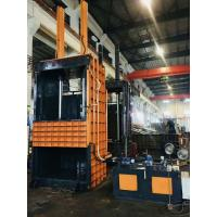 Quality Vertical Press Bale Push Out By Cylinder Baler Machine  For Compress Waste Paper for sale