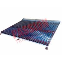 Quality High Efficiency U Pipe Solar Collector Balcony Mounting Stainless Steel Reflector for sale