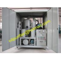 China Vacuum Transformer Oil Purifier Plant,Oil Separation System, Insulating Oil Filter Machine with Cabinet  Cover on sale