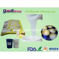 Buy cheap RTV-2 Molding tin cure liquid silicone rubber for culture stone casting from wholesalers
