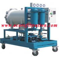 Quality Coalescence-separation type Diesel Fuel Oil Filtration Machine for sale