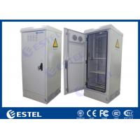 Quality Waterproof Sinlgle Wall Outdoor Power Battery Cabinet / IP55 Outdoor Telecom Cabinet for sale