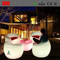 Quality 16 color changable Hot Selling Whaterproof Furniture LED Glowing Chair For Outdoor Yard Garden Party Club Event Park for sale