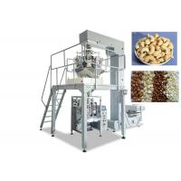 Quality Plastic / Aluminium Snack Packaging Machine, VFFS Packing Machine For Food Products for sale
