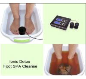 Quality Dual Ionizer Detox Equipment Toxin Hydrosana Iron Detox Foot Spa BCD-211 for sale