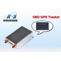Quality Mini SMS / GPRS OBD GPS Tracker Web Based GPS Tracker With Free Software for sale
