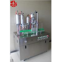 Quality 5 In 1 Aerosol Spray Filling Machine / Aerosol Filling Equipment CE Approval for sale