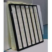 Quality Polyester Ahu 3500m³/h Pocket Air Filter for sale