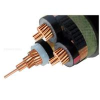 Quality Copper 6/10 (12 ) kV 3 Core XLPE Insulated Cable MV Power Cables screened Unarmored Electrical cable for sale