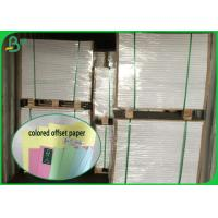 Quality FSC 100% Virgin Colored Offset Printing Paper& Bostial paper Smooth Surface for sale