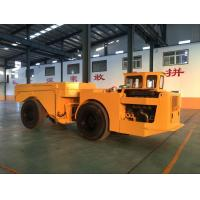 Quality Yellow Heavy Duty Low Profile Dump Truck For Underground Mining for sale