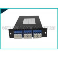Buy 4 Channels Fiber Optic Simplex Directional CWDM DEMUX LGX Cassette at wholesale prices