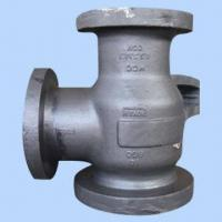 Quality Tee Pipe Fitting, Sand Casting, Precision Turned Parts, Flange Fitting, Grey Cast Iron Casting for sale