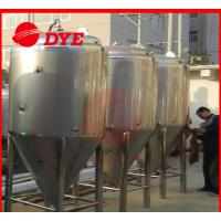Buy Industrial Conical Stainless Steel Fermenter Tank 2MM - 5MM Thickness at wholesale prices