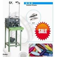 China Wire Sewing Pirn Bobbin Winding Machine Two Spindles For Suitcases , Garments on sale