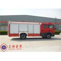 China Approach Angle 19° Rescue Fire Truck Six Seats Lifting Time On Rail Less Than 60s on sale