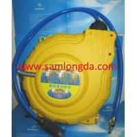Quality Automatic Retractable air hose reel, PP cover with 15m pvc air hose, max 15bar. for sale