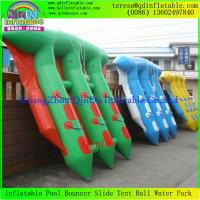 China Popular Funny Inflatable Towable Flying Fish Boat For Water Amusement  Equipment on sale