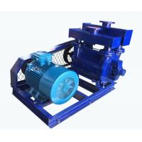 Quality Single Stage Water Vacuum Pump , Liquid Suction Pump Single Role Belt Drive for sale