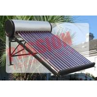 Quality Evacuated Tube Solar Water Heater , Outdoor Solar Water Heater With CE for sale