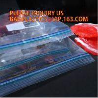 Buy cheap Resealable LDPE Food Grade Double Zipper Seal Bag for Packing Sandwich, Gravure printing LDPE plastic double ziplock san from wholesalers