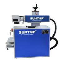 Quality Mini Portable Laser Marking Machine Gold And Silver Cutting 50*50mm - 300*300mm for sale