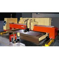 Quality Pulse fiber laser source Trident Numerical Plasma Cutting Machine for sale