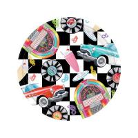 China Sock Hop 10 Dinner Plates (8 count) on sale