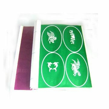 Buy Model:Airbrush tattlo stencils at wholesale prices