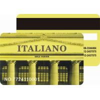 Quality Magnetic stripe card for sale