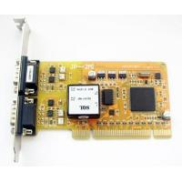 Quality Multiport Serial Car 2 RS485/422 serial port expansion card (optical isolated) for sale
