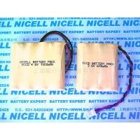 China NICELL Ni-Cd Rechargeable Battery Packs on sale
