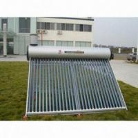 Quality Preheated Copper Coil Pressurized Solar Water Heater for sale