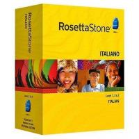 Rosetta Stone Version 3 Italian Level 1, 2 & 3 Set For Windows