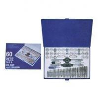 China 60piece COMBINATION TAP AND DIE SET METRIC UNC UNF AND NPT on sale