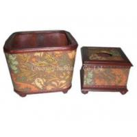 Quality Wooden Boxes Tissue Box Model No:GTB09-011 for sale