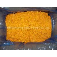 China Organic Vegetables Package Home organic frozen pumpkin small dices package on sale