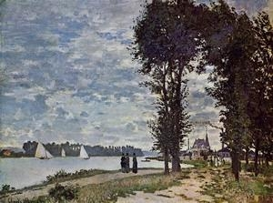 Buy Impressionist(3830) The_Banks_of_the_Seine_at_Argenteuil at wholesale prices