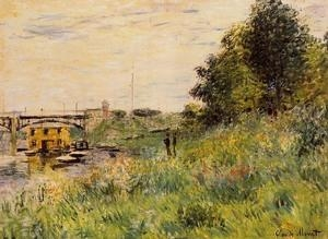 Buy Impressionist(3830) The_Banks_of_the_Seine_at_the_Argenteuil_Bridge at wholesale prices