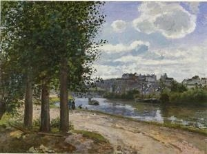 Buy Impressionist(3830) Banks_of_the_Oise at wholesale prices