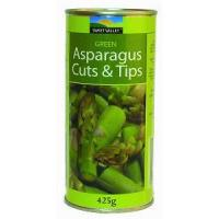 China GREEN ASPARAGUS TIPS AND CUTS TIN 425G on sale