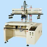 Motor Slide Shuttle Type Flat Surface Screen Printer