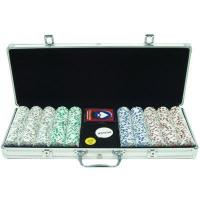 Quality Tool Case 500 4 ACES 11.5g Poker Chips, Aluminum Case, 14 Dominoes!500 4 ACES POKER CHIPSTHE PERFECT TOURNAMENT CHIPS!!PREMIUM ALUMINUM CASE & EXTRAS!THE 4 ACES IS THE MOST FLEXIBLE CHIP SET ON THE MARKET! FROM A NICKEL TO 10 GRAND AND JUST ABOUT EV for sale