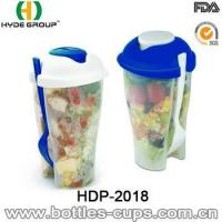 Quality High Quality Salad Shaker Cup with Fork (HDP-2018) for sale